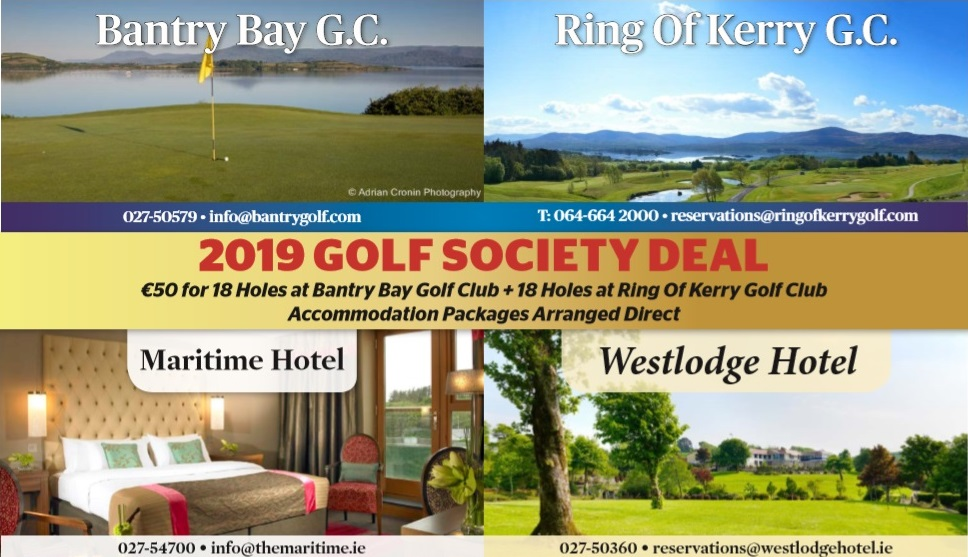 2019 Golf Society Deal